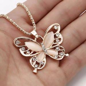 Jewelry - 💎💎 Rose Gold Beautiful Butterfly Opal 2/$20 💎💎